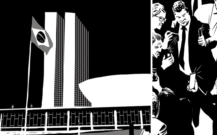 """""""Problemas Brasileiros"""" usa jornalismo em quadrinhos para tratar de política"""