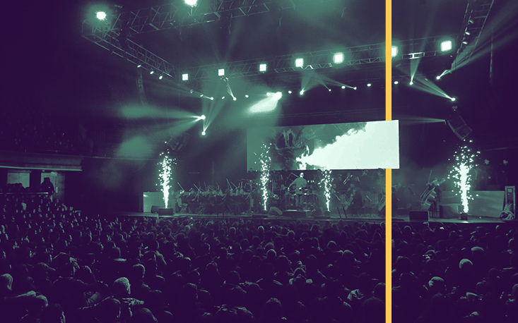 Orquestra de Concepción apresenta clássicos do rock e do cinema no Teatro Raul Cortez