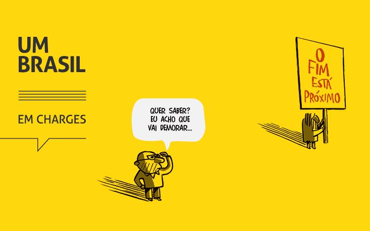 """""""UM BRASIL em charges"""" vai surpreender público e lojistas no Continental Shopping"""