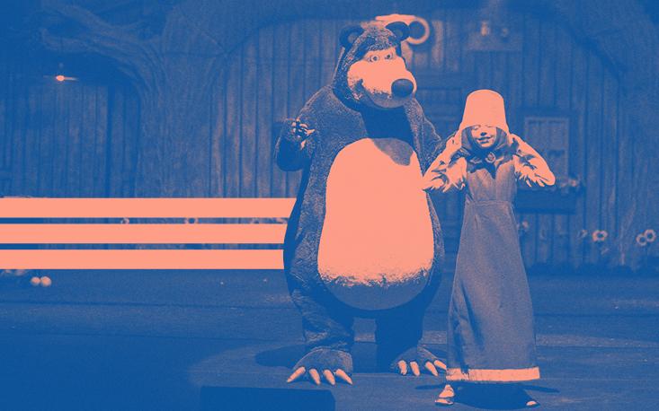 """""""Masha e o Urso"""" chegam para animar o Teatro Raul Cortez"""