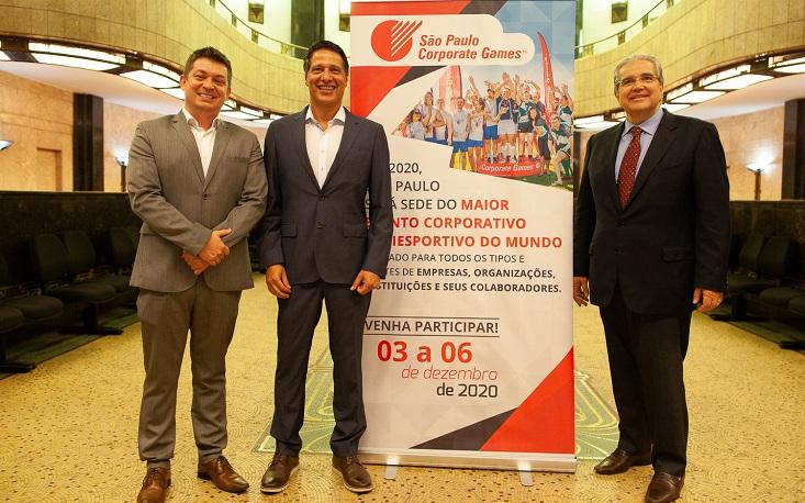 """São Paulo receberá """"Olimpíada"""" para empresas e funcionários em 2020"""