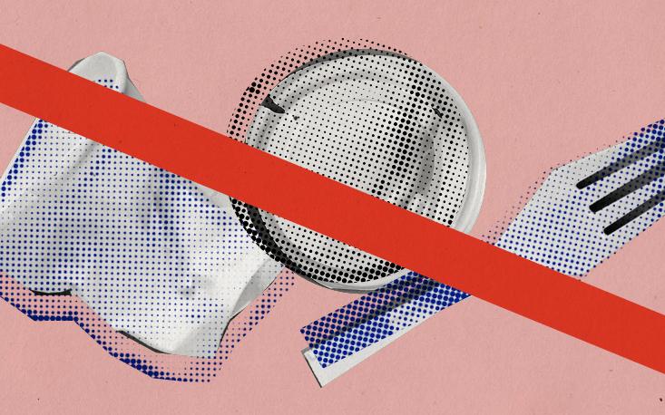 São Paulo pode proibir fornecimento de utensílios plásticos descartáveis no comércio
