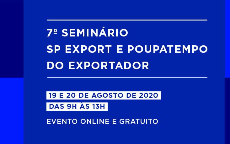 FecomercioSP marca presença no 7º Seminário SP Export e Poupatempo do Exportador