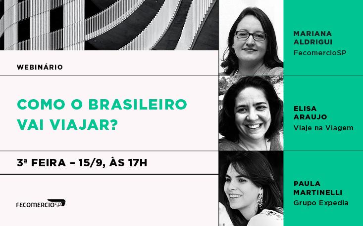 Como o brasileiro planeja viajar a partir de agora? Empresários do setor podem conferir dicas e tirar dúvidas no nosso webinário