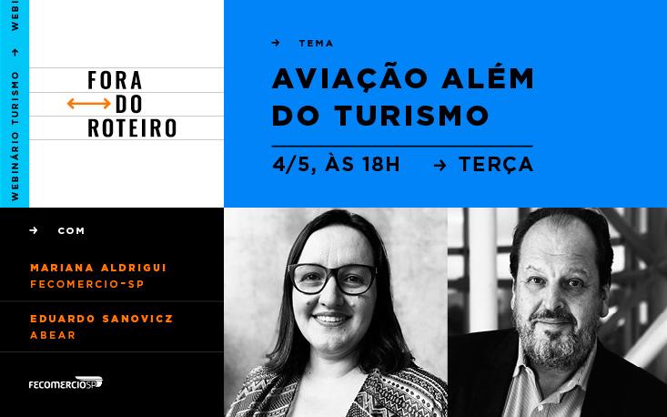 """""""Fora do Roteiro"""" estreia com bate-papo sobre aviação"""