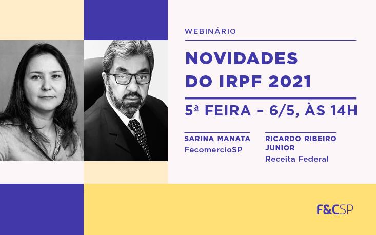 Quais são as novidades do IRPF 2021?