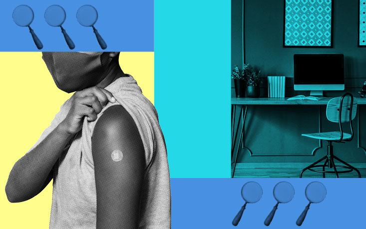 Levantamento aponta que maioria das empresas só deve retomar atividades presenciais com colaboradores vacinados